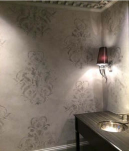 MARBLING-AND-STENCILING-WITH-POLISHED-PLASTER5-257x300